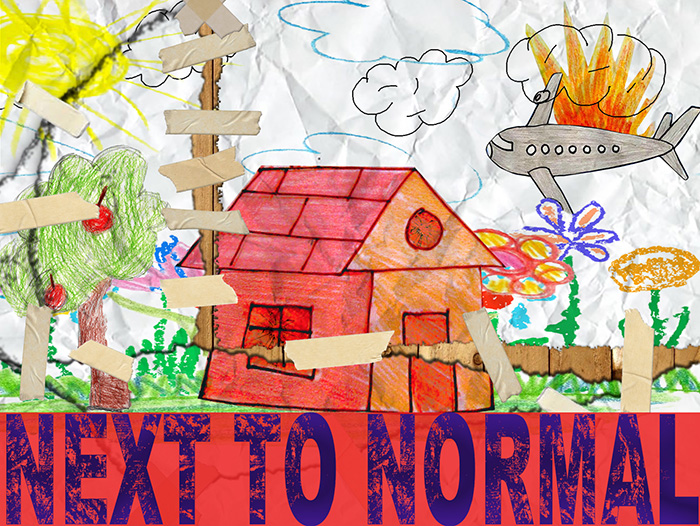 Next to Normal graphic