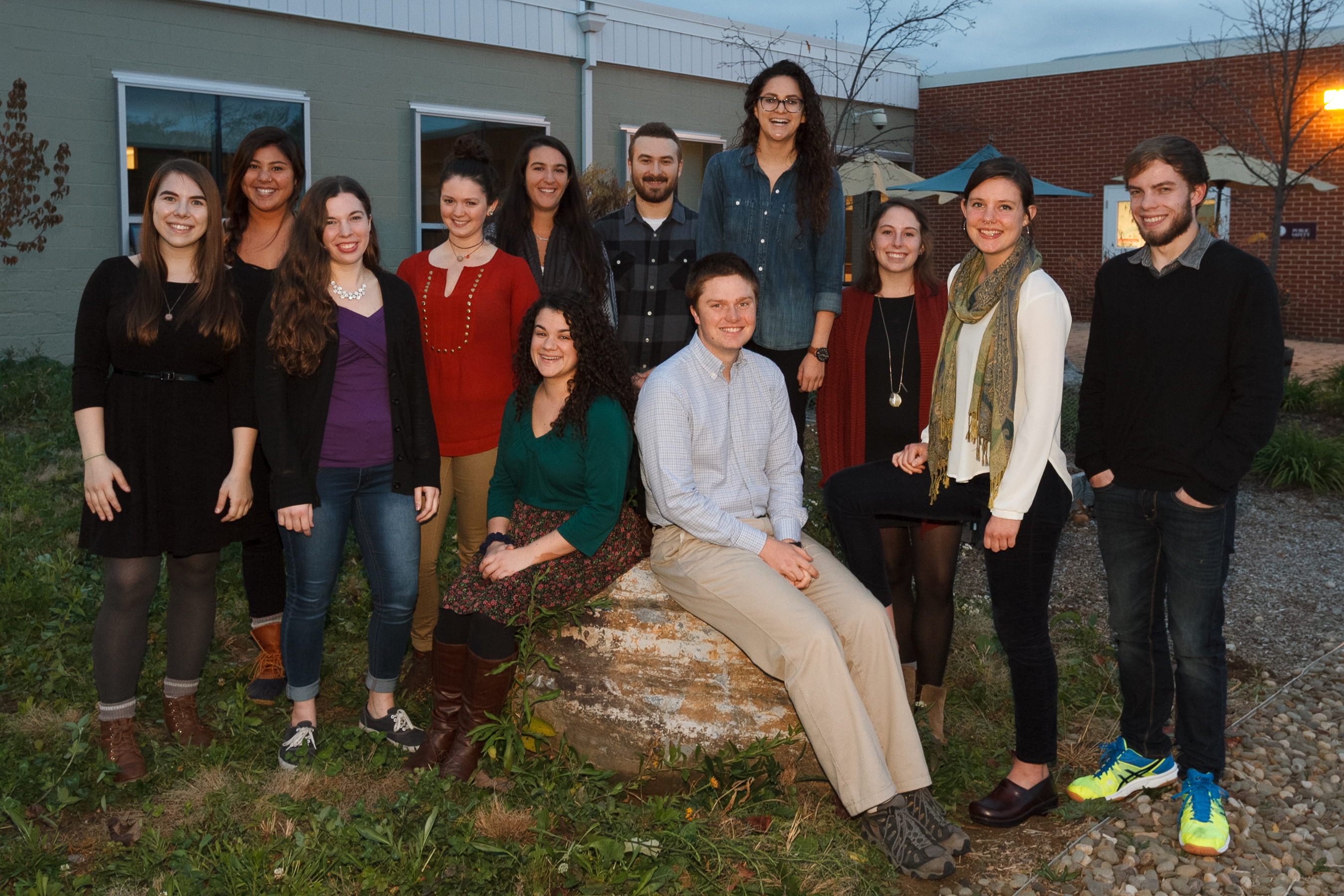 The 2016 Baird Sustainability Fellows.