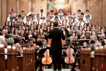 The Orchestra and Choir perform Handel's Messiah