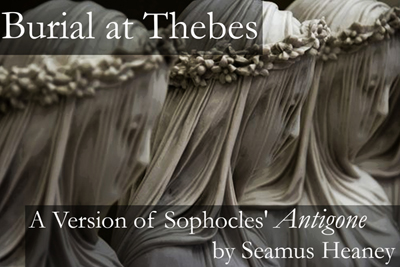 poster for The Burial at Thebes