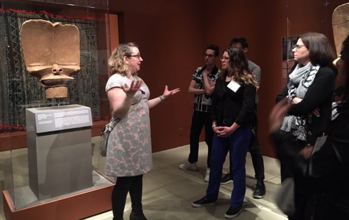 Heather Flaherty, curator of education at The Trout Gallery, discusses rare Cameroonian headdresses at the Metropolitan Museum of Art.
