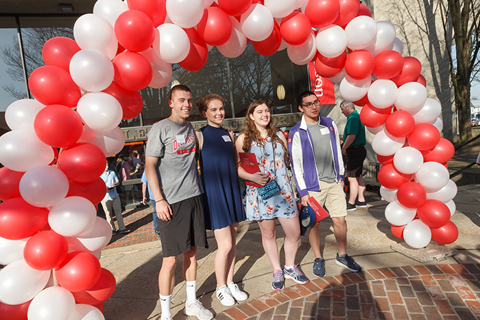 Admitted Student Open House Draws Record Attendance