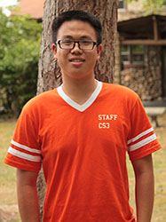 Adam Huang Religious Life Student Leader