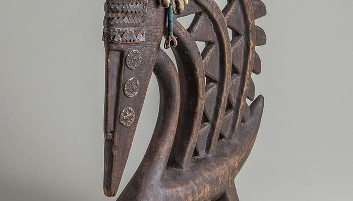 Male Antelope Dance Headdress (Ci Wara) 1994.6.3. Gift of Joseph and Doris Gerofsky.