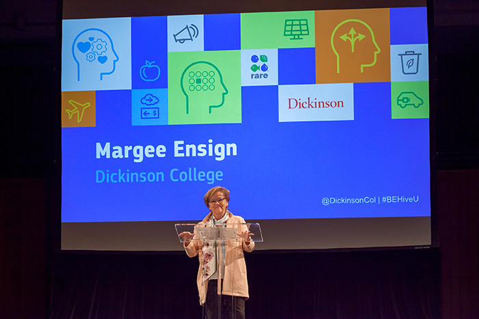 Margee Ensign, Sustainability
