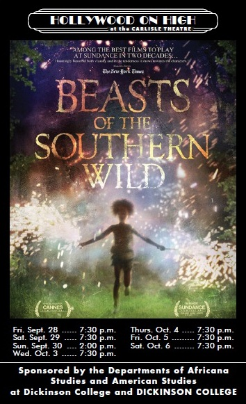Beasts of the Southern Wild, a film about a forgotten but defiant Louisiana bayou community cut off from the rest of the world by a sprawling levee, a six-year-old girl (Hushpuppy, played by Quvenshané Wallis) exists on the brink of orphanhood. Buoyed by