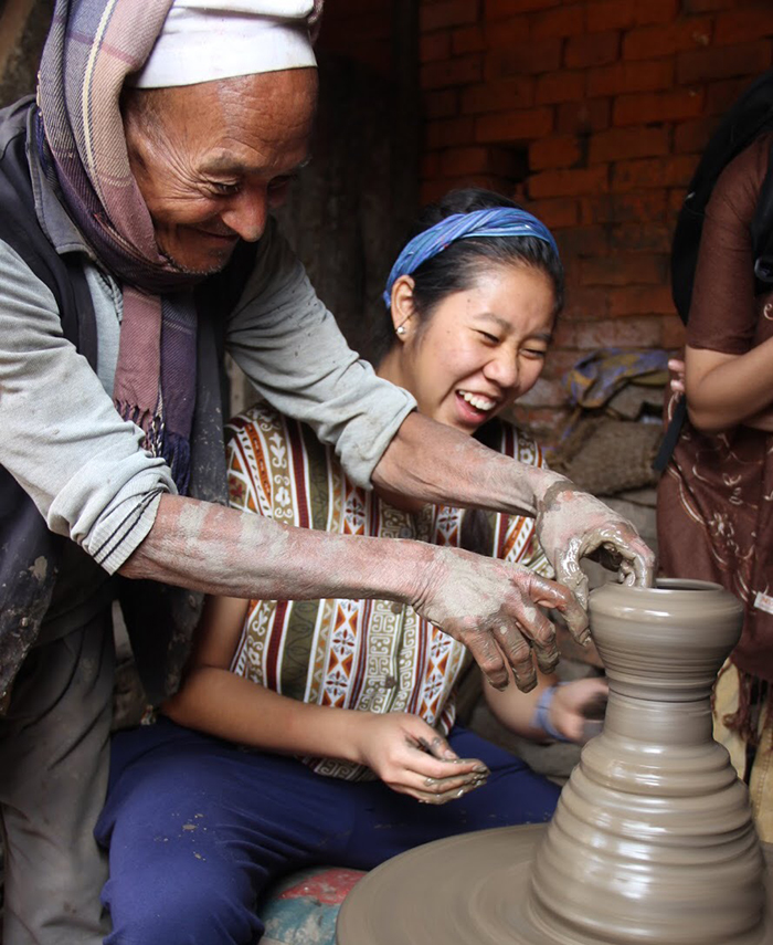 "Dickinsonians Engaging the Host City: ""Learning Ceramics"" in Nepal, by Penélope Bencosme '19"