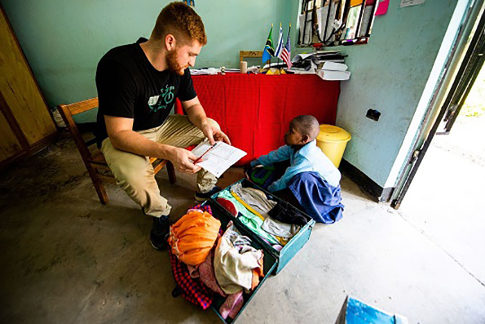 Dickinson's commitment to a global education is part of what inspired Patrick Irwin '17 to go abroad and help effect change in poverty-stricken areas by supporting local business growth.