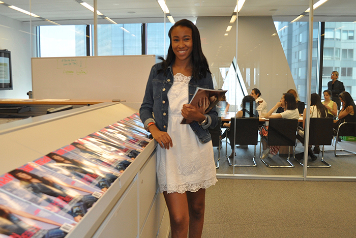 What's it like to intern with a massive media brand? Just ask Christina Braxton '18 who spent a summer with Marie Claire and took with her a new outlook on sales and marketing.