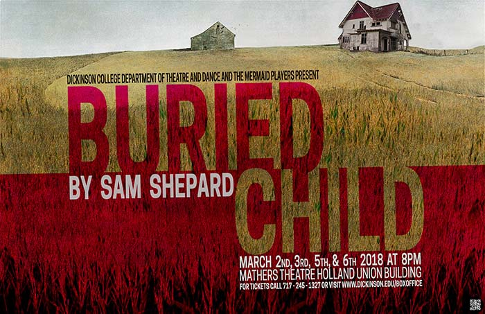 Buried Child promotional poster