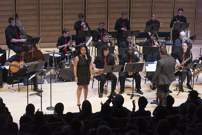 The Dickinson College Jazz Ensemble