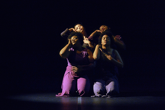 Members of the Dance Theatre Group. Photo by A. Pierce Bounds '71.