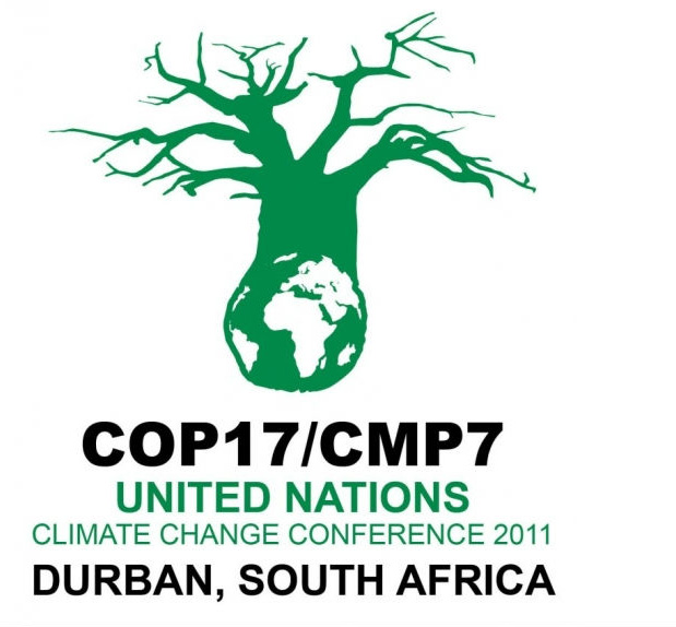 Logo for COP 17 conference in Durban, South Africa