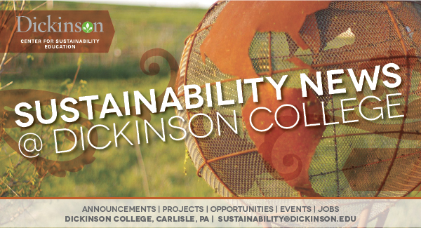 Sustainability News at Dickinson College