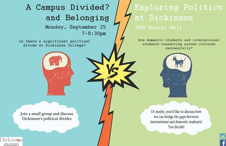 campus divided poster