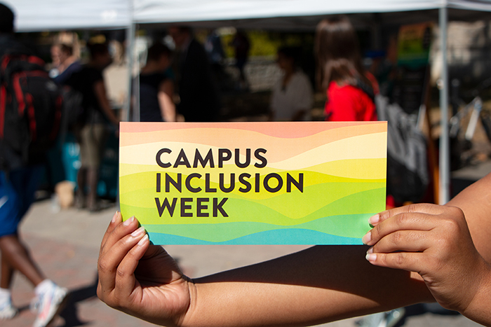 Log into EngageD to access Zoom links for Dickinson's 2020 Building Campus Inclusion Week, Sept. 14-18.