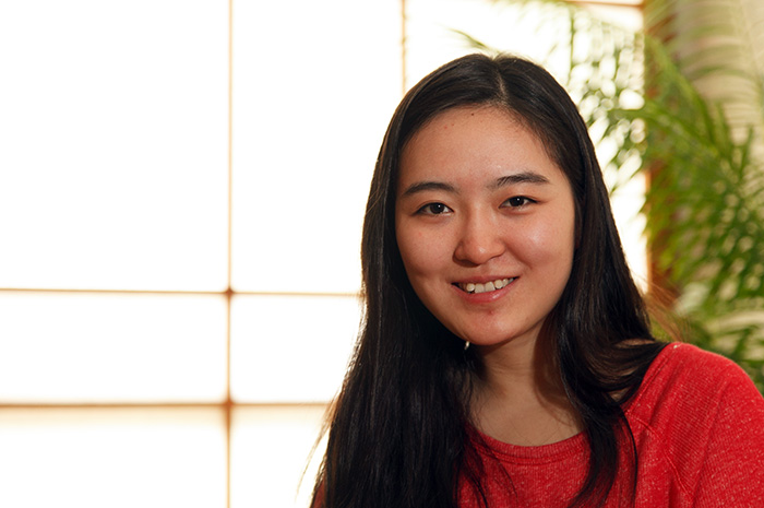 Lingwei Cheng '14, East Asian studies, student-faculty research