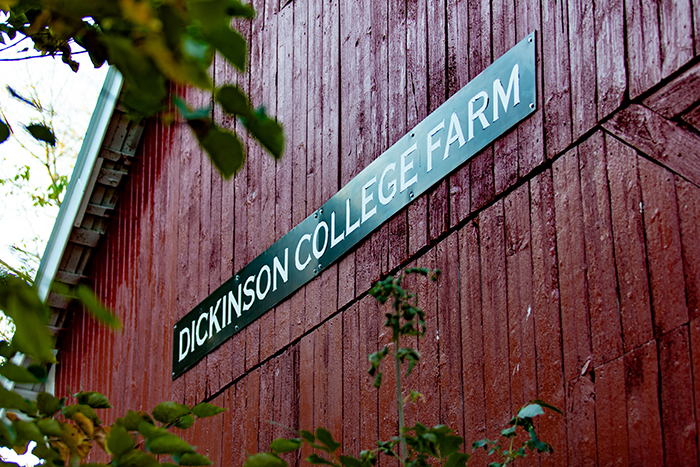 Dickinson College Farm receives $300,000 grant from EPA.