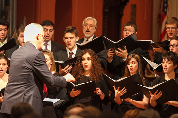 collegium, holiday concert