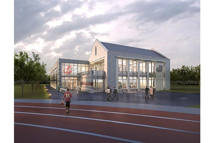 Architectural Rendering of Durden Center Entrance