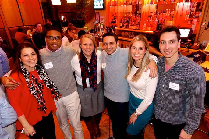 D.C.-area alumni paint the capitol city red during a regional alumni event.