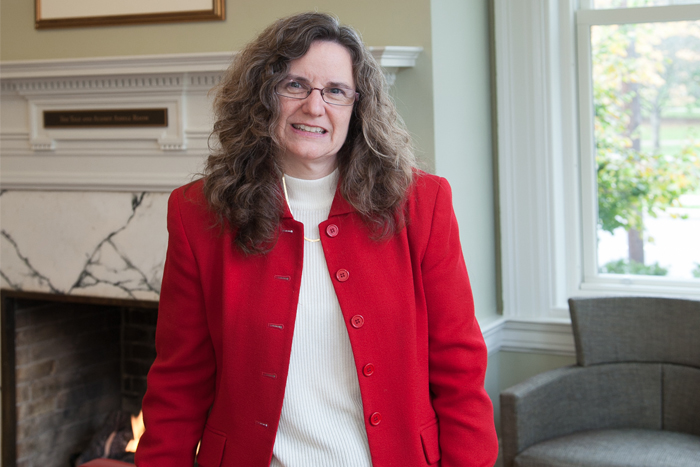 Catherine McDonald Davenport '87, dean of admissions