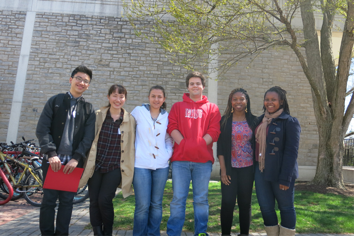 International admitted students
