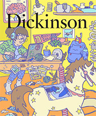 Dickinson magazine fall 2018 cover
