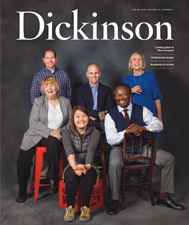 Dickinson magazine cover spring 2018