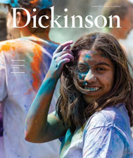 Cover the summer 2018 DIckinson magazine