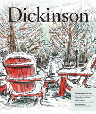 Dickinson Magazine winter 2018 cover