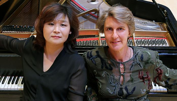 Eun Ae Baik-Kim and Jennifer Blyth