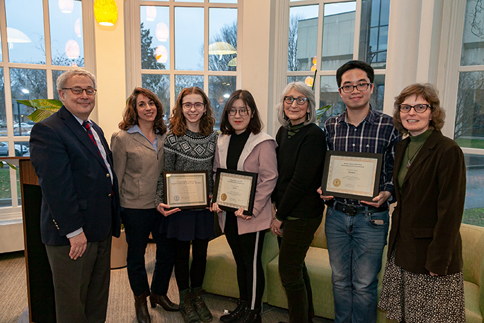 First-Year Seminar Awards Showcase Excellent Student Writing and Research