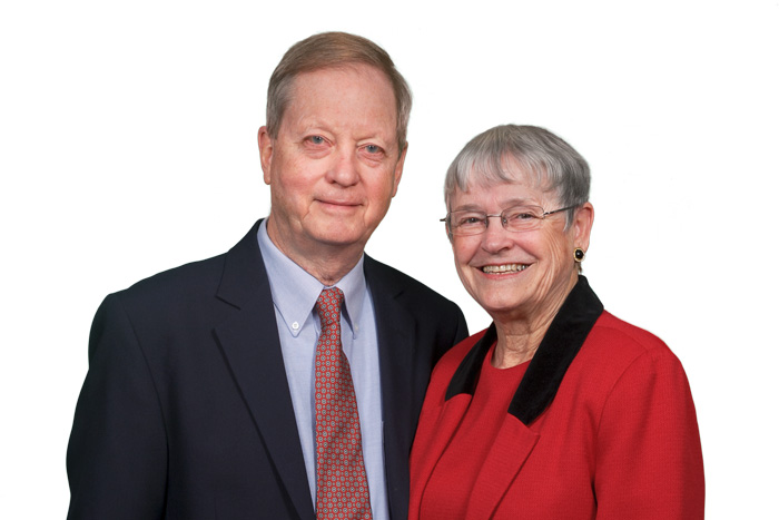 Bill '60 and Joan Freeman