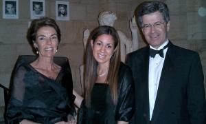 Jayna Athas '05 with Ambassador and Mrs. Jean-David Levitte