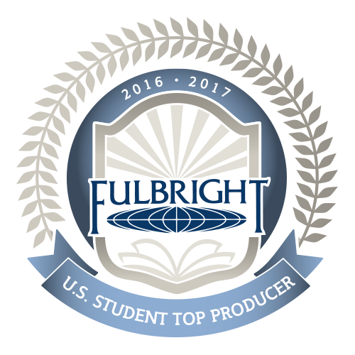 Fulbright US Student Top Producer 16-17