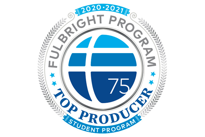 Fulbright top-producing college