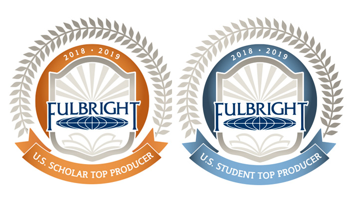 Fulbright top-producer badges
