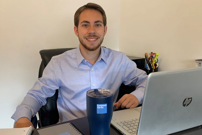 Alumni Connection Leads Student to Position With Goldman Sachs