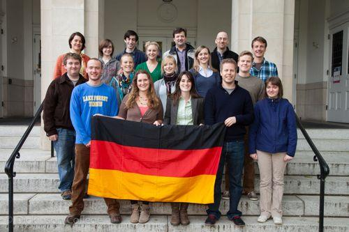 German Club sponsors many events throughout the academic year.