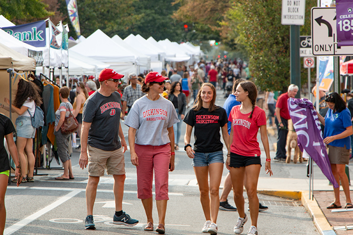 2019 Homecoming & Family Weekend at Dickinson College