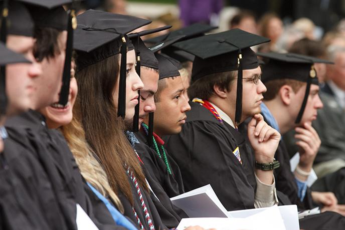 Image of 2013 graduates at Commencement