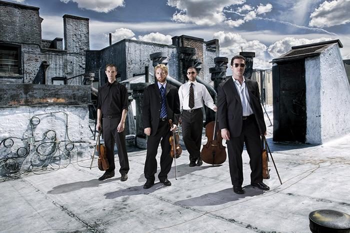 Artists-in-residence JACK Quartet will perform in concert.