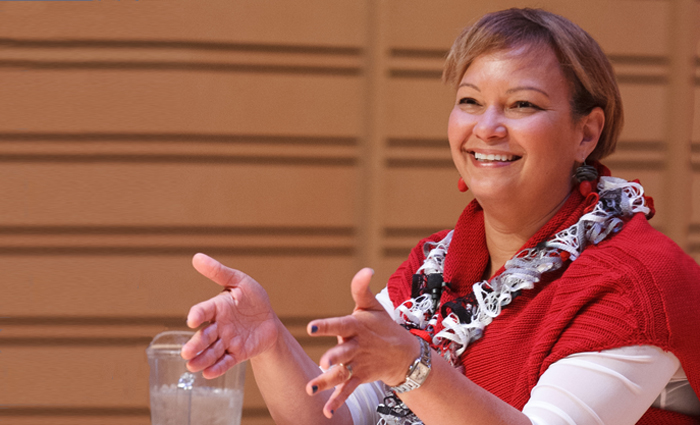 Environmental-protection leader Lisa Jackson visits campus