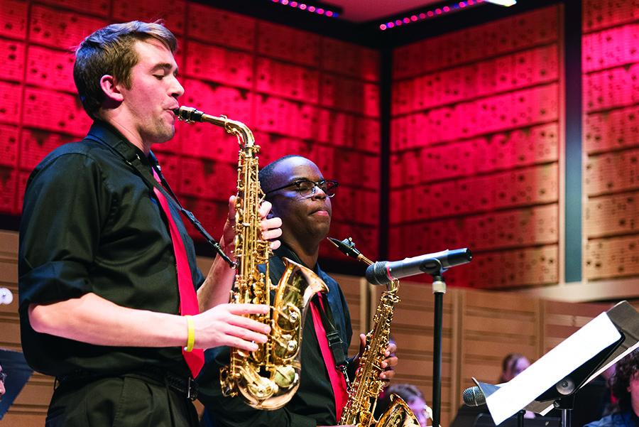 Students Perform Jazz