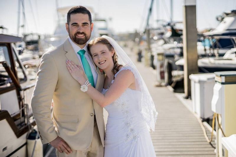Tiffany Kintigh 10 Married Sergio Peña At The Mission Bay Yacht Club In San Go Calif On Oct 1