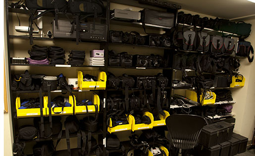 Left Equipment Wall