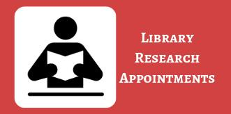 Library Research Appointment