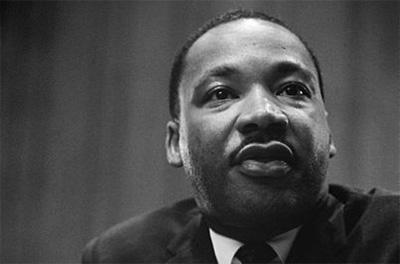 This is a photograph of Martin Luther King, Jr.