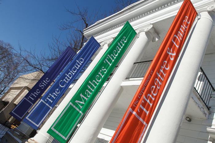 Montgomery House banners